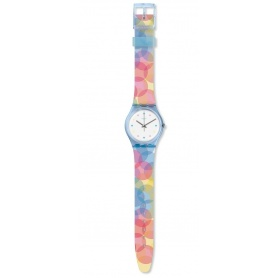 Orologio Swatch donna Bordujas multicolor arcobaleno - GS159
