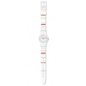 Women's Swatch watch Herzlich white - LW164