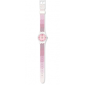 Women's Swatch watch Pavered pink LW163