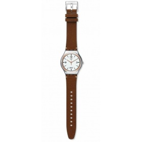 Herrenuhr Swatch TV Show Leder - YWS443