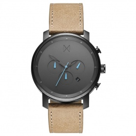 MVMT Gunmetal Sandstone Chrono Watch - MC01GML