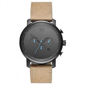 MVMT - Rotguss-Sandstein-Chrono-Uhr - MC01GML