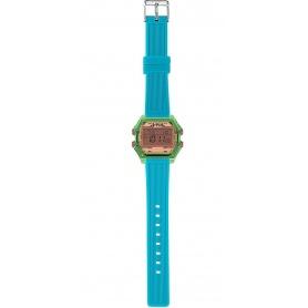 Women's Digital Watch I AM pink / aqua green IAM007207