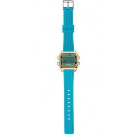 I AM Women's Digital Watch light blue / aqua green