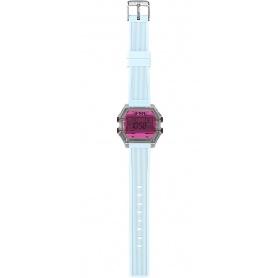 I AM Fuchsia / light blue Digital Watch IAM009202