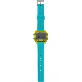 Men's Digital Watch I AM gray / light blue IAM109307