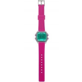 Women's Digital Watch I AM water green / fuchsia IAM010209