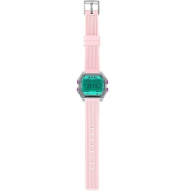 Women's Digital Watch I AM pink / aqua green IAM010203