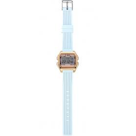 Women's Digital Watch I AM powder pink / light blue IAM003202