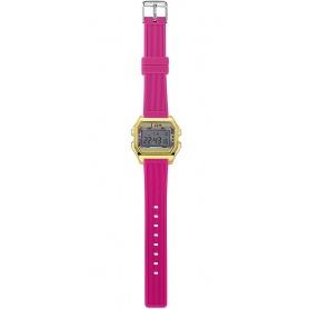 Women's Digital Watch I AM gray / fuchsia IAM004209