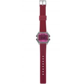 I AM Fuchsia / red Digital Watch IAM009208