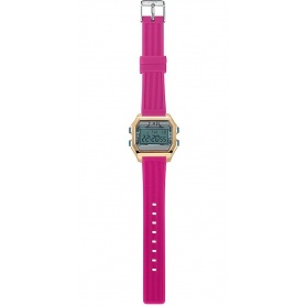 I AM Damen Digitaluhr hellblau / fuchsia - IAM002209