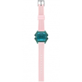 Damen Digitaluhr I AM blau / pink - IAM008203