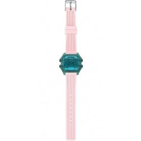 Orologio Digitale donna I AM blu/rosa - IAM008203