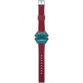 I AM blue / red digital woman watch - IAM008208