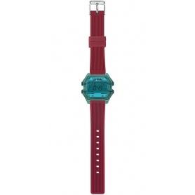 ICH BIN blau / rote digitale Damenuhr - IAM008208