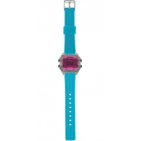 I AM fucsia / aqua green Digital Watch - IAM009207