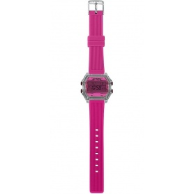 I AM fuchsia women's digital watch - IAM009209