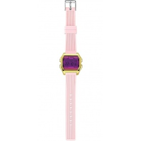 I AM fuchsia / pink woman digital watch - IAM005203
