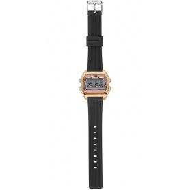 Women's Digital Watch I AM powder pink / black - IAM003206