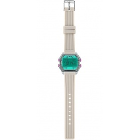 Women's Digital Watch I AM water green / gray - IAM010204