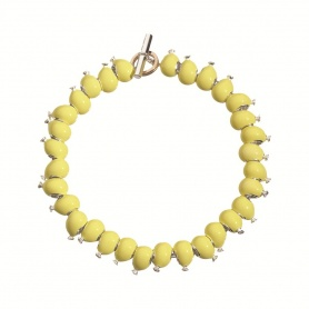 Queriot Armband mit gelben Luftballons