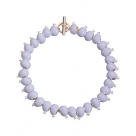 Queriot bracelet with light blue balloons