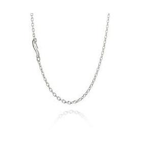 Collana catena Filodellevita argento cm 60