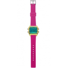 Women's Digital Watch I AM green / fuchsia - IAM006001