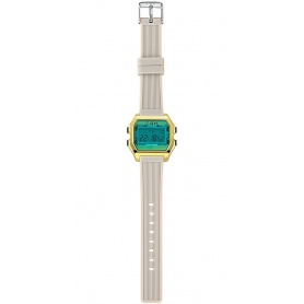 I AM green / gray digital woman watch - IAM006204