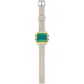 ICH BIN grün / graue digitale Damenuhr - IAM006204