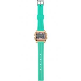 Orologio digitale donna IAM rosa cipria/acquamarina