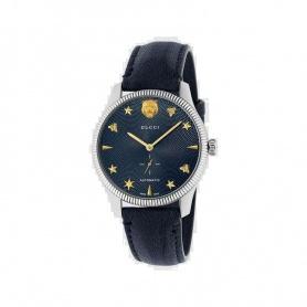 Gucci men's watch G-Timeless automatic blue - YA126347