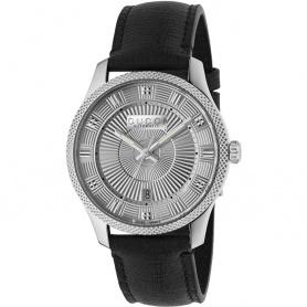Gucci men's watch G-Timeless aut Eryx silver black - YA126338