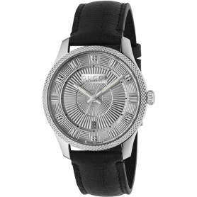Orologio Gucci uomo G-Timeless aut Eryx silver black - YA126338
