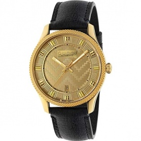 Gucci men's watch G-Timeless aut Eryx gold - YA126340