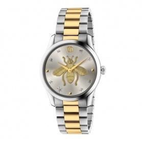 Orologio Gucci donna G-Timeless Iconic silver e gold - YA1264131