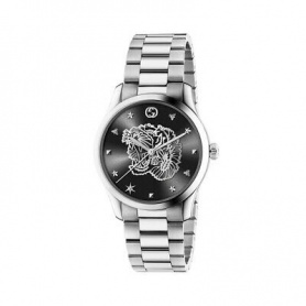 Orologio Gucci donna G-Timeless Iconic silver black - YA1264125
