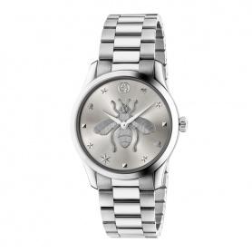 Gucci G-Timeless Iconic Silber Damenuhr - YA1264126