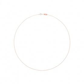 Collana Queriot catena oro rosa - K11O06-42