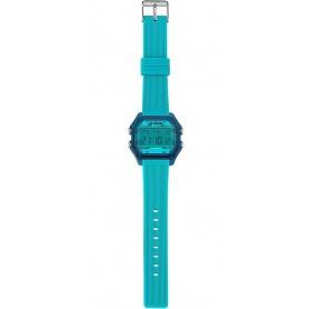 I AM man water green / light blue digital watch - IAM107307