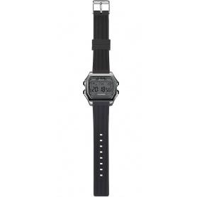 Herren Digitaluhr I AM grau / schwarz - IAM101301
