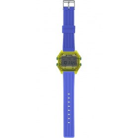 Men's Digital Watch I AM gray / electric blue - IAM109306