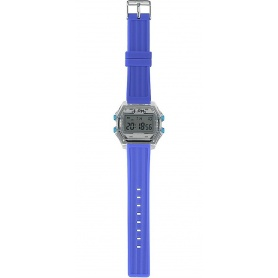 Herren Digitaluhr I AM grau / blau - IAM110306