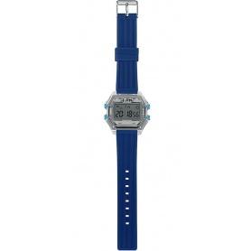 Herren Digitaluhr I AM grau / blau - IAM110302
