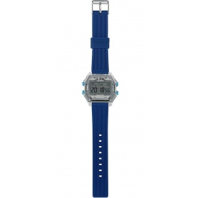 Men's Digital Watch I AM gray / blue - IAM110302