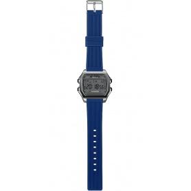 Herren Digitaluhr I AM grau / blau - IAM101309