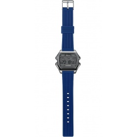 Men's Digital Watch I AM gray / blue - IAM101309