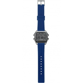 Men's Digital Watch I AM gray / blue - IAM101302