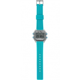 Men's digital watch I AM gray / blue - IAM110307